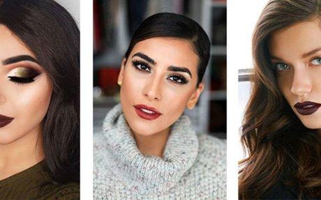 15+ Winter Themed Face Makeup Looks & Ideas 2017