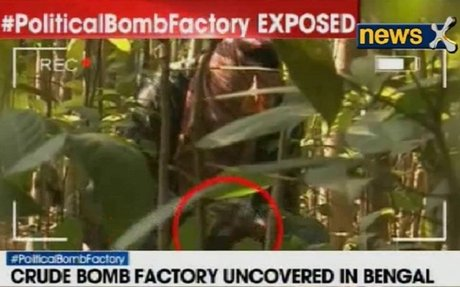 NewsX Exclusive - Bomb making factory unearthed in Murshidabad ahead of Assembly Polls