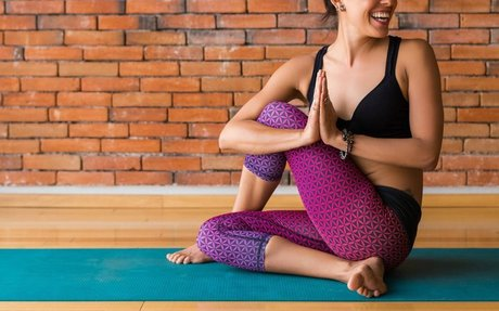 This Yoga Workout Is Perfect for Those Days You Feel Bloated AF