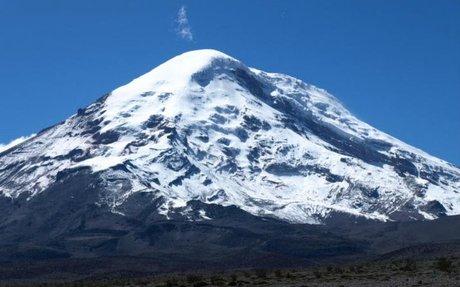 La erupción del Chimborazo - Marca.com