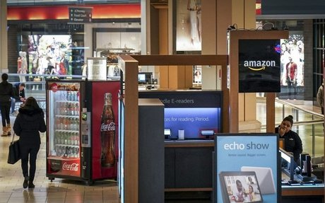 Brand Highlight // Amazon kiosks helped struggling malls - Now they're all closing