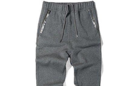 Casual Fashion Cotton Mid Waist Sweatpants