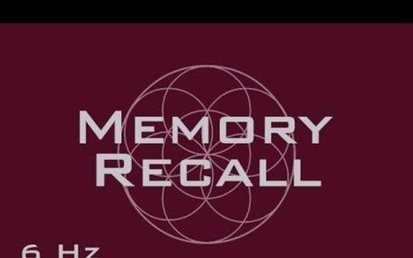 Memory Recall Meditation Music - Past Memory Remembrance - Binaural Beats