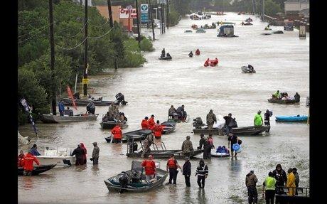 Photos: Hurricane Harvey slams Texas