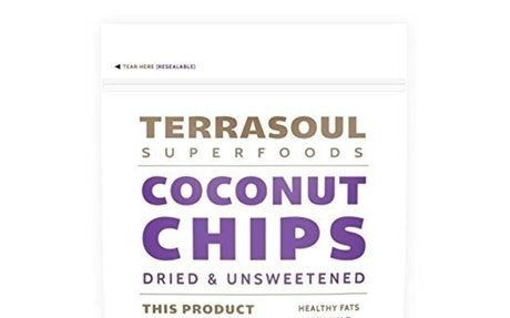 Terrasoul Superfoods Raw Coconut Chips (Organic)