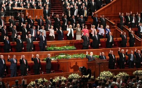FIRST PRESIDENCY SUSTAINED, AND TWO NEW LEADERS NAMED TO THE QUORUM OF THE TWELVE APOSTLES