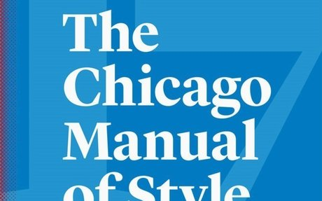 Announcing The Chicago Manual of Style, 17th Edition