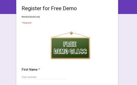 Register for Free Demo