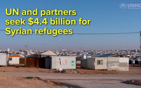 UN and Partners Seek US$4.4 billion to Aid Syrian Refugees