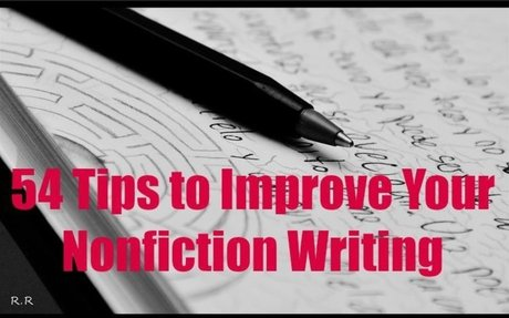 54 Tips to Improve Your Nonfiction Writing - Daring to Live Fully