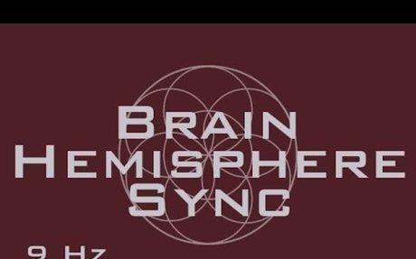 Brain Hemisphere Sync Meditation Music - Activate The Entire Brain - 9 Hz Isochronic Tones
