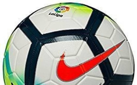 Amazon.com : Nike La Liga Strike Ball 2017/18 (White/Turquoise) (4) : Sports & Outdoors