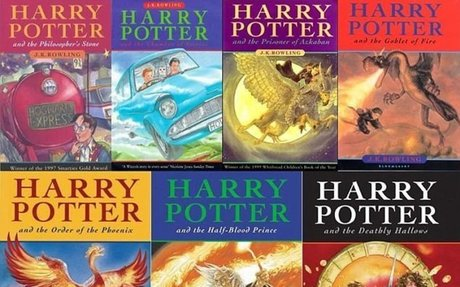 Harry Potter book series and movies, anything Harry Potter really