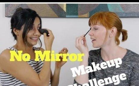 No Mirror Makeup Challenge (under 3 minutes)