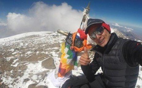 Rozhovor: Karl Egloff, který překonal čerstvý Kilianův rekord ve výběhu na Aconcaguu