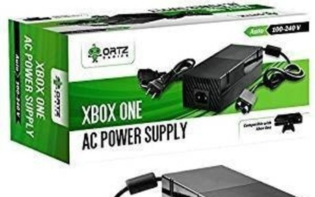 Amazon.com: Ortz® AC Adapter Power Supply Cord for Xbox One [QUIET VERSION] Best for Charg