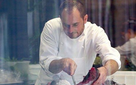 Alexandre Couillon, chef de l'année, cuisinier du vivant