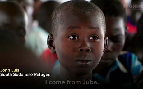 I want to learn everything –  A South Sudanese refugee at school in Uganda