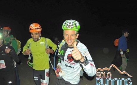 Karl Egloff repite victoria en la ultratrail más alta del mundo