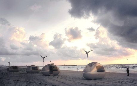 Wind And Solar Powered Ecocapsule Allows Thrill-Seekers To Live Off The Grid
