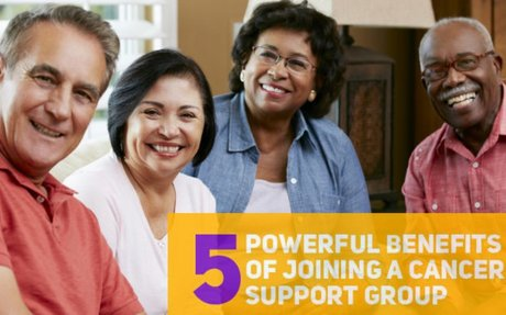 5 Powerful Benefits of Joining a Cancer Support Group (Infographic)
