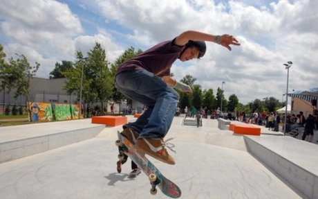 I want to visit a Skate Park