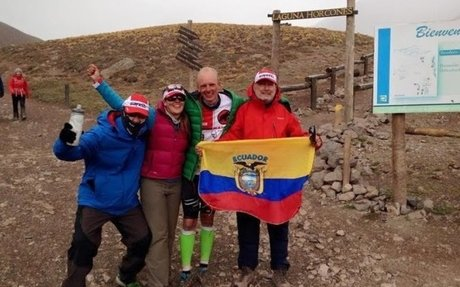 Ecuatoriano rompió el récord de escalada rápida al Aconcagua
