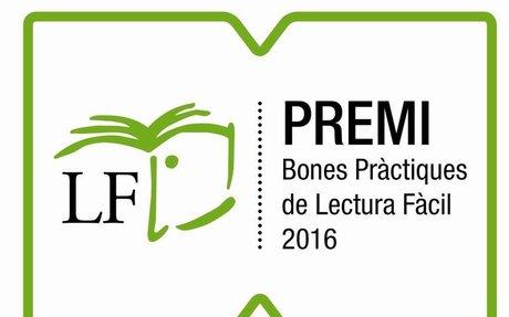 Premi Bones Pràctiques Lectura Fàcil 2016
