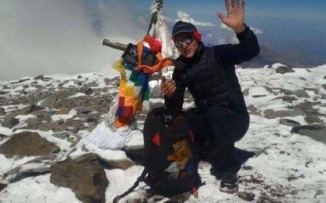 Karl Egloff, el más veloz del Aconcagua