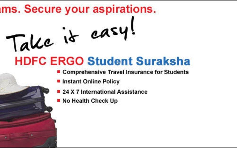 Student Overseas Travel Insurance Plan - HDFC Ergo