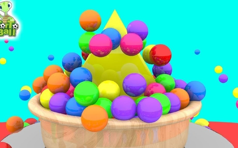LEARN SHAPE Surprise with Mini Ball Funny For Children and Kids by Torto ball