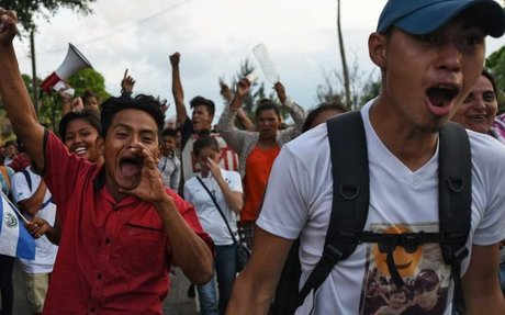 TRUMP WINS: Migrant Caravan Changes Mind After Trump Announces U.S. Forces To Border