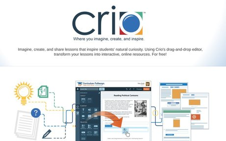 Crio: Imagine, create, and share lessons that inspire students