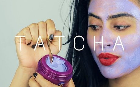 TATCHA VIOLET-C RADIANCE MASK REVIEW/DEMONSTRATION