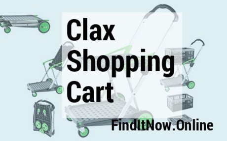 Clax Folding Shopping Cart and Trolley - Quick Review