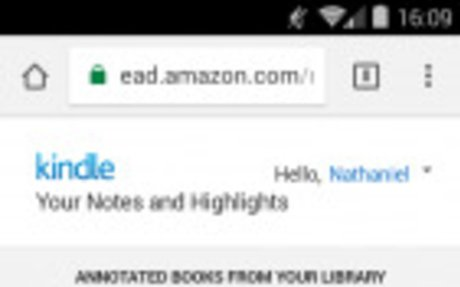 Amazon Gave Your Notes & Highlights a New Home on the Web | The Digital Reader