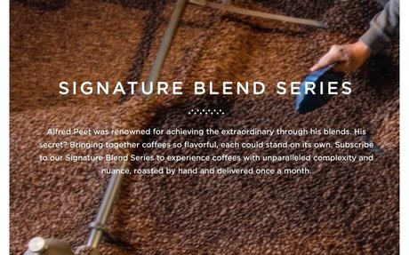 Signature Series Subscription - Subscriptions  | Peet's Coffee