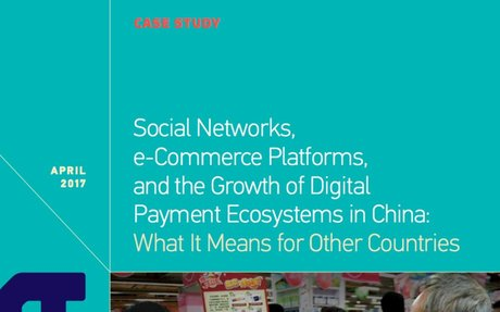 2017-4 China Study: e-Commerce Platforms, and the Growth of Digital Payment Ecosystem