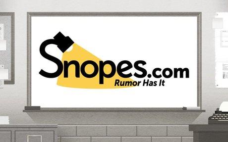 Snopes.com - fact checking made easy