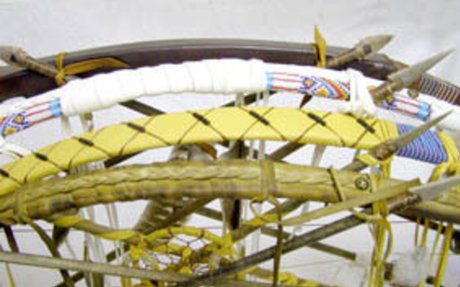 Native American Navajo Warrior Bows & Artifacts | Kachina House