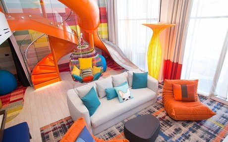 Inside the most expensive suite on the world's most expensive cruise ship