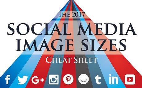 2017 Social Media Image Sizes Cheat Sheet - Make A Website Hub