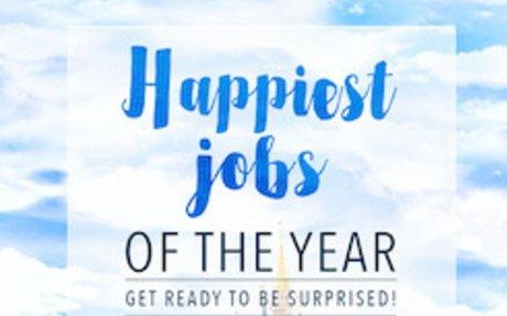 WORK >> The 10 Happiest Jobs Of 2016