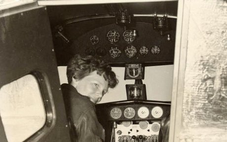 10. The Disappearance of Amelia Earhart