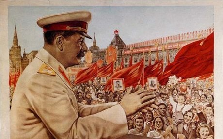 stalin, cult of the leader