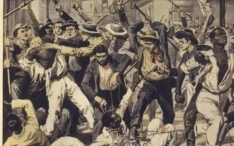 5. African American Drowns When Whites Throw Stones on Him (leads to Chicago Race Riot)