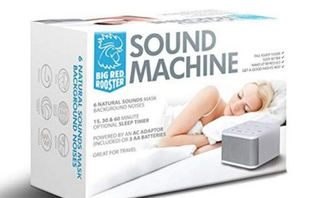 Amazon.com: Big Red Rooster White Noise Machine - Sound Machine For Sleeping & Relaxation