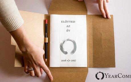 YearCompass - A füzet, amely segít lezárni az éved és megtervezni a következőt.