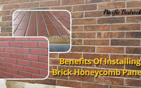 Benefits Of Installing Brick Honeycomb Panels