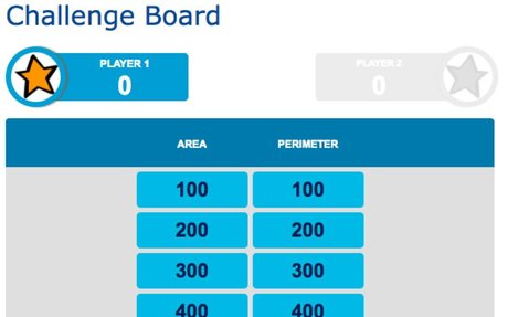 Quia - Jeopardy - Area and Perimeter